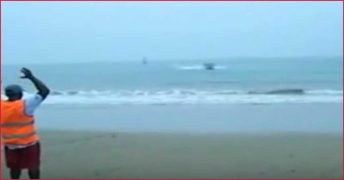 Er rast auf den Strand zu. Was dann passiert, das glaubst du nicht!