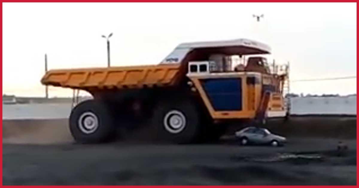 Was dieser Monster Lkw kann, schafft nicht mal ein Panzer.