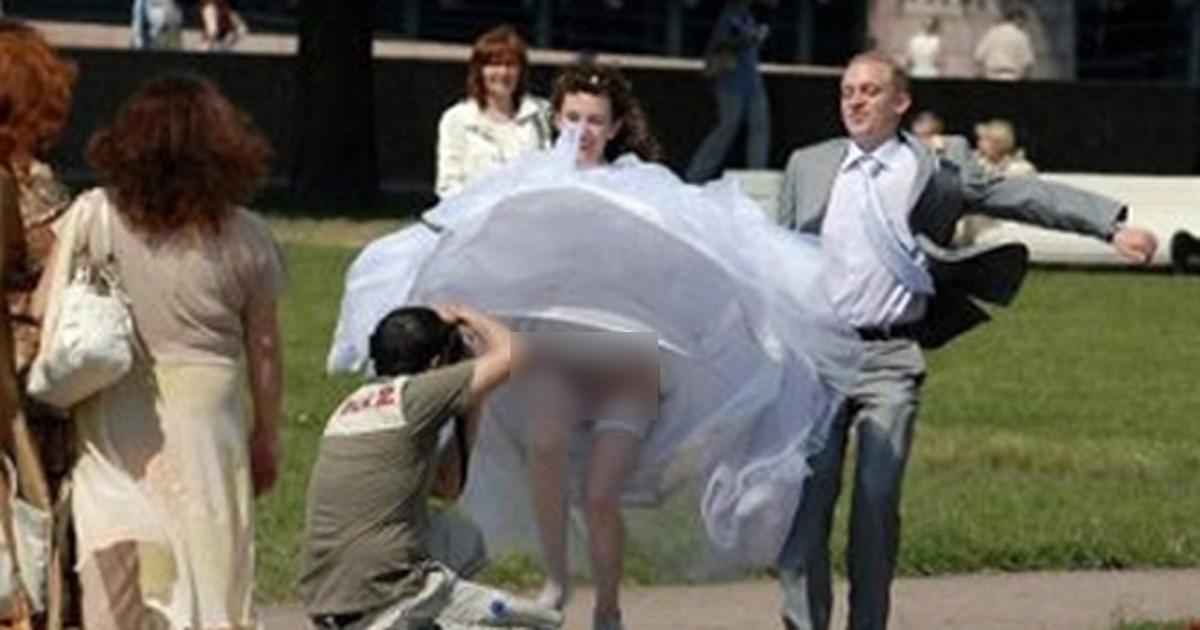 Das sind die abgefahrensten Hochzeitsbilder im Internet! Nr. 6 ist einfach nur schräg.