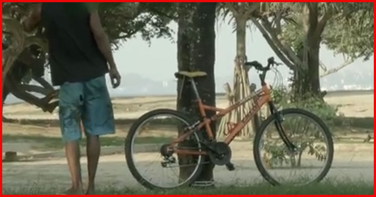 Fahrräder klauen rächt sich!