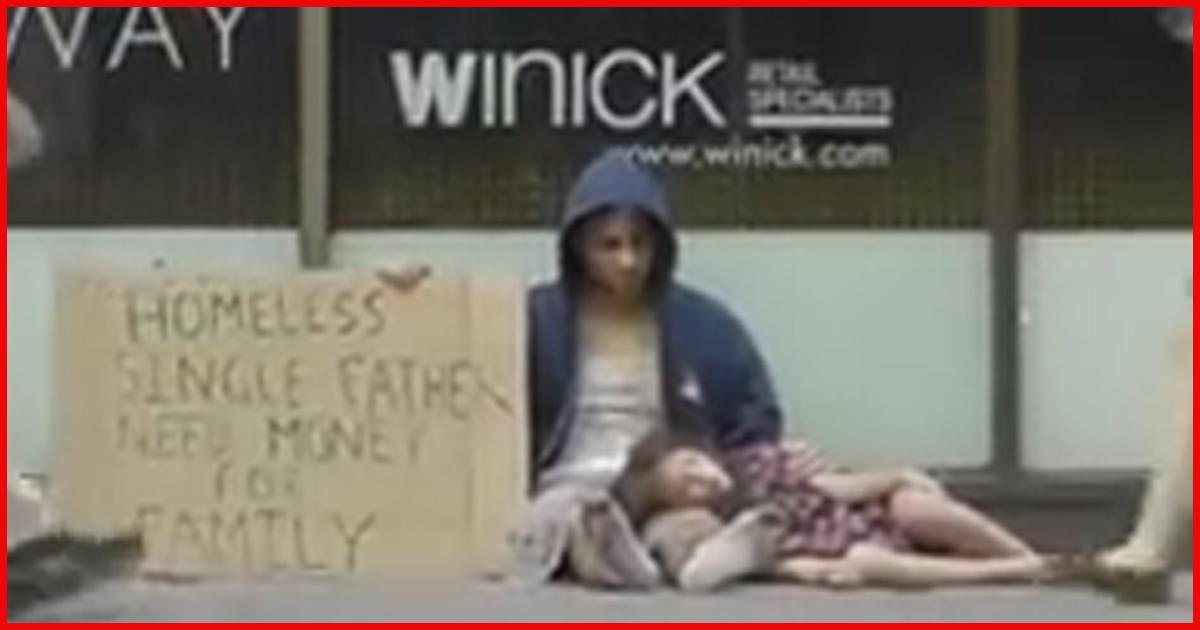 Du glaubst nicht was dieser Obdachlose in seiner Garage stehen hat!
