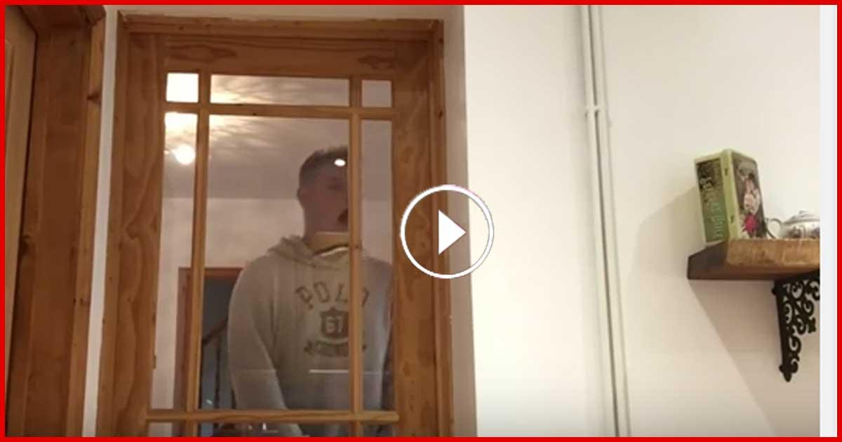 Schock! Er wollte die Tür öffnen und bekam ein höllischen Stromschlag!