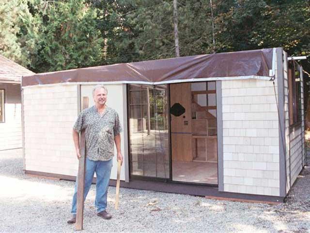 Ein haus mit 26 m und allem komfort ich will auch so for Modernes haus ohne dach