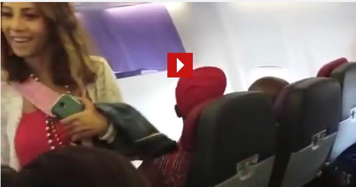 Du betrittst das Flugzeug und da sitzen ein paar Leute und du bekommst die totale Gänsehaut. Unglaublich!