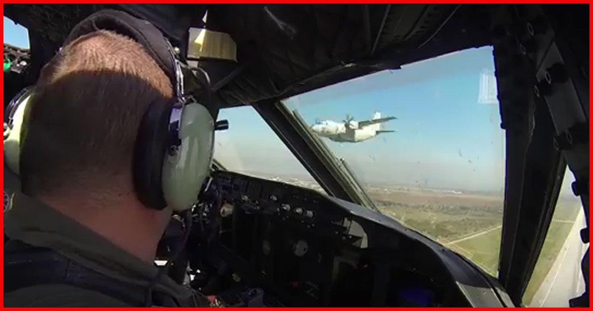 2 Flugzeuge rasen auf einander zu. Das war verdammt knapp!