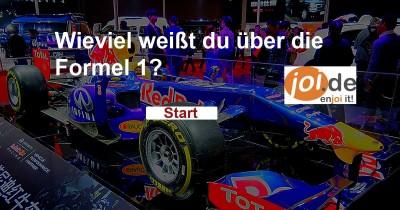Was weißt du über die Formel 1 und Autorennen? Finde es jetzt heraus