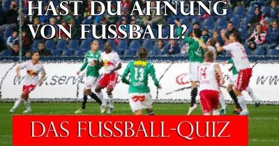 Hast du Ahnung von Fußball?