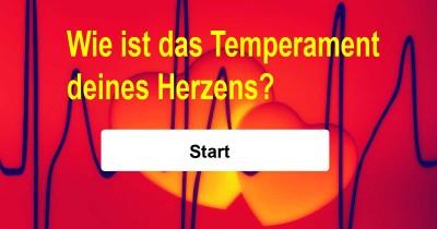 Kennst du das Temperament deines Herzens?