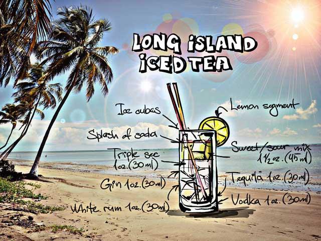 Cocktail Long-Island-Iced-Tea