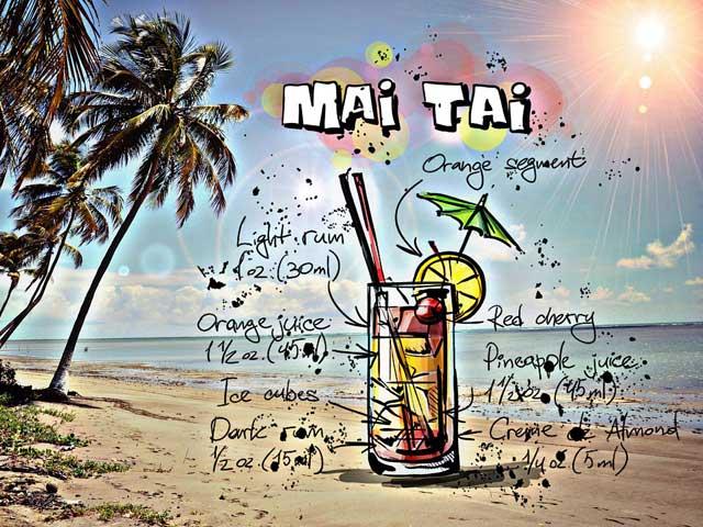 Cocktail Mai-Tai