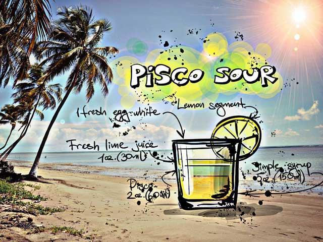 Cocktail Pisco-Sour