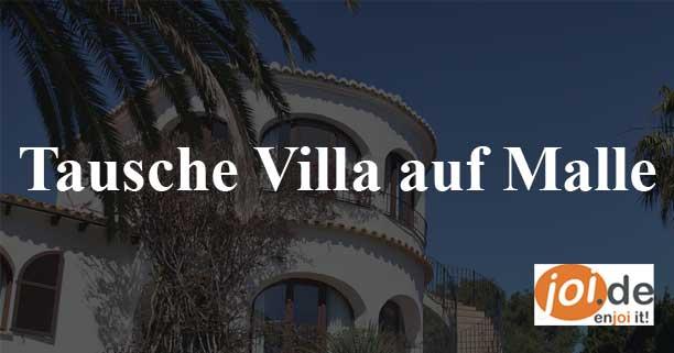 Wer tauscht Villa auf Mallorca?
