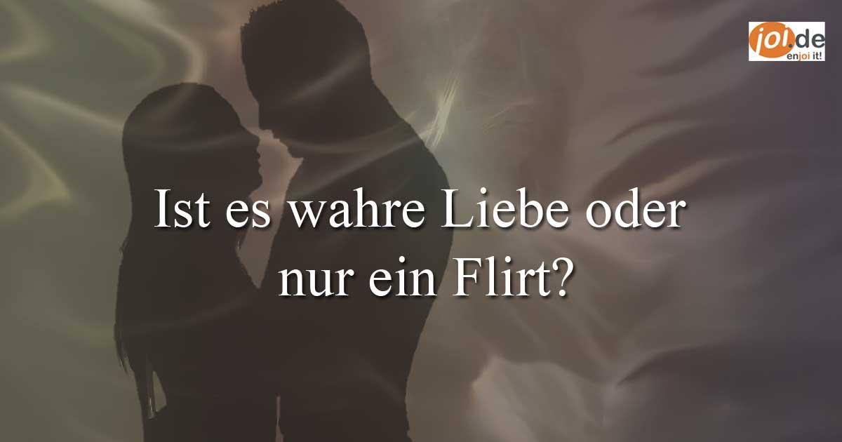 Flirt mann anzeichen
