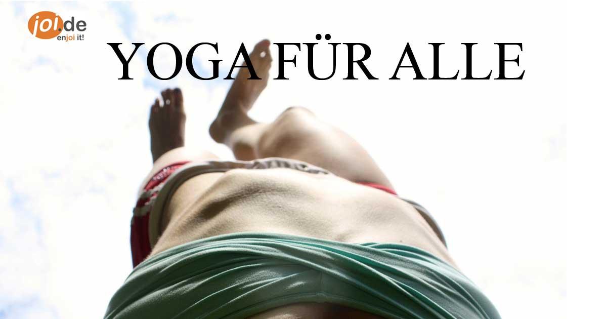10 tolle Fotos, die zeigen das Yoga für alle ist.