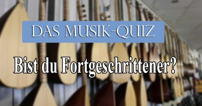 Bist du ein Musik Experte?