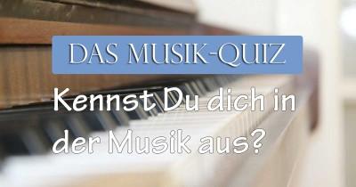 Kennst du dich in der Musik aus?