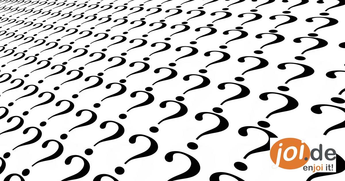 10 Fragen aus reiner Neugierde!