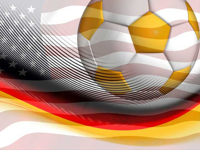Fußball Länderspiel USA - Deutschland!
