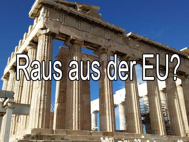 Griechenland. Das ewige Thema!
