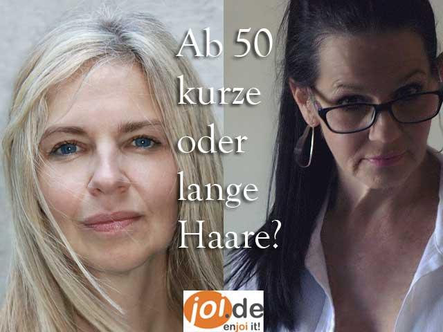 Haare und Frauen über 50 Jahre!
